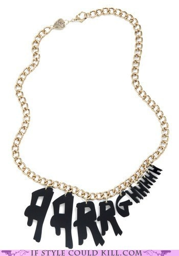 Angst necklace.