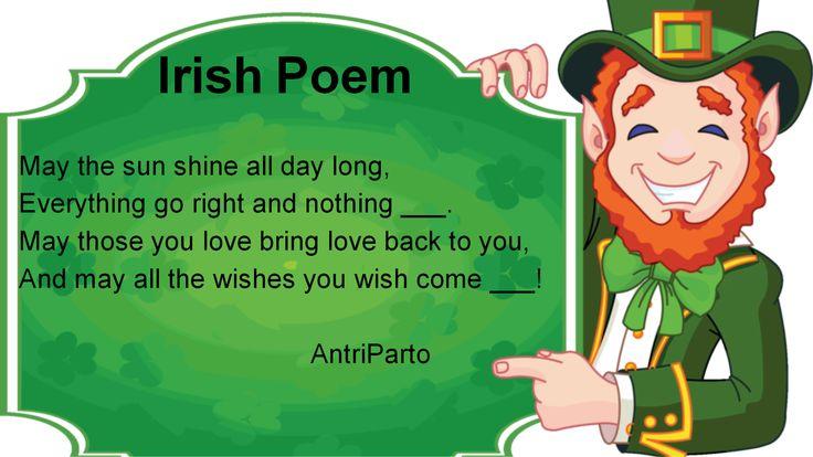 Irish Poem #learnenglish