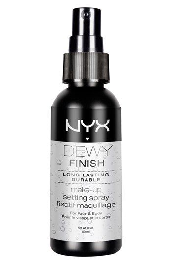 NYX 'Dewy Finish' Makeup Setting Spray available at #Nordstrom $8
