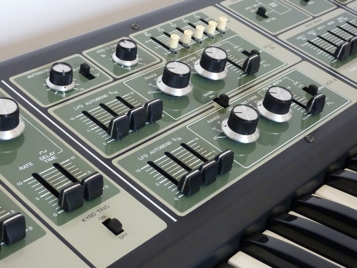 Roland sh7 analogue synthesizer synth synths for Classic house synths