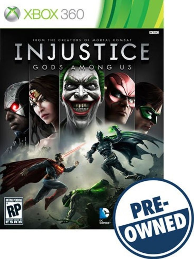 Injustice: Gods Among Us - PRE-Owned - Xbox 360