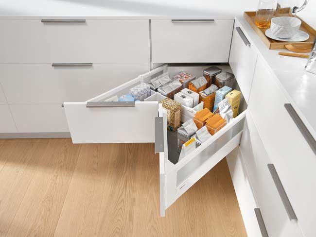 Onwijs Slimme hoekkast voor de keuken (met afbeeldingen) | Keuken QR-96