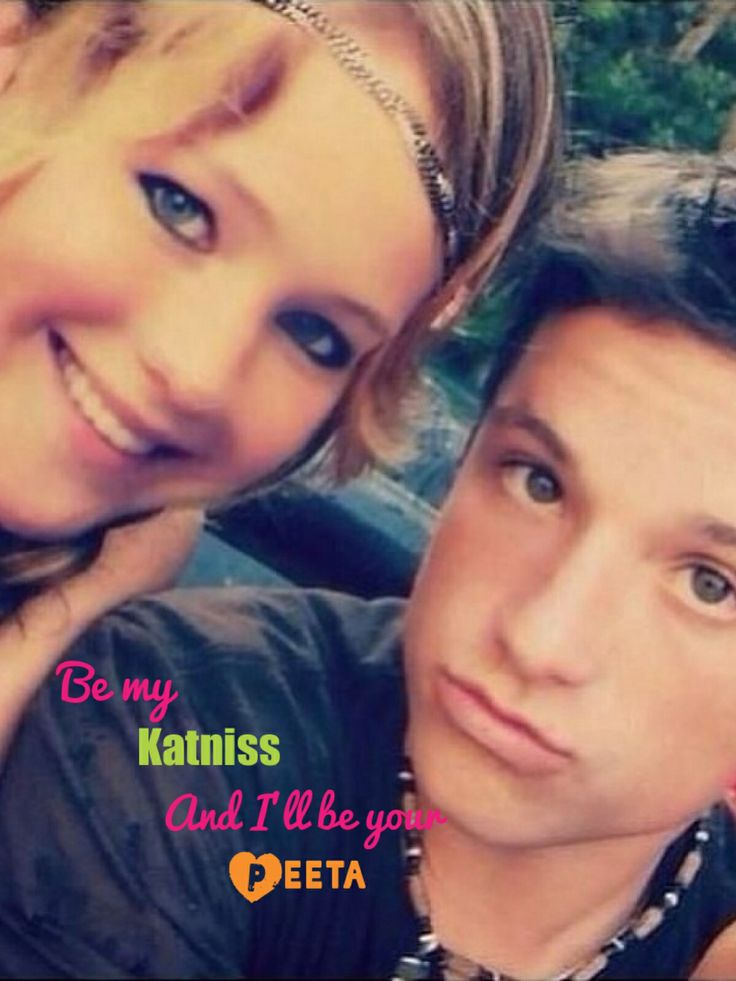 Jen and Josh- be my Katniss and I'll be your Peeta!