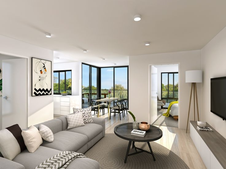 Living area of Allure on Ludwick