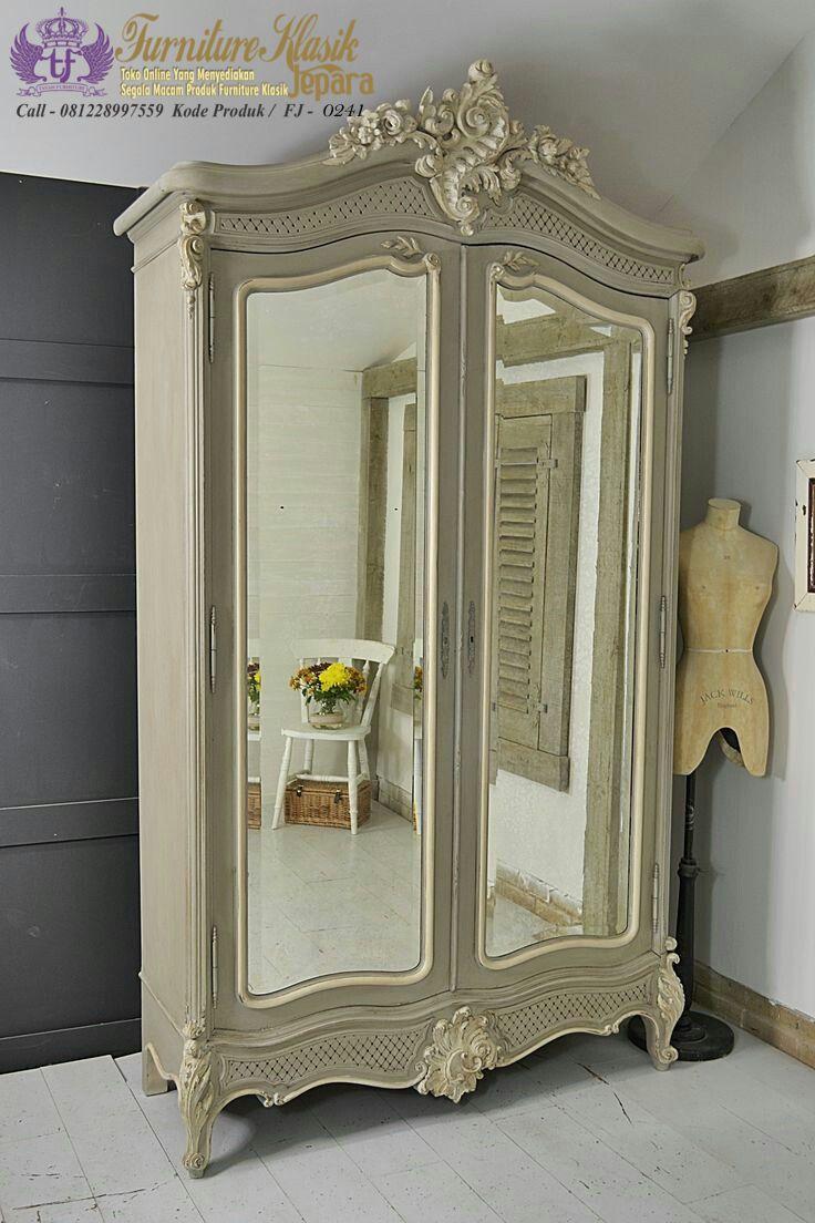 lemari pakaian 2 pintu