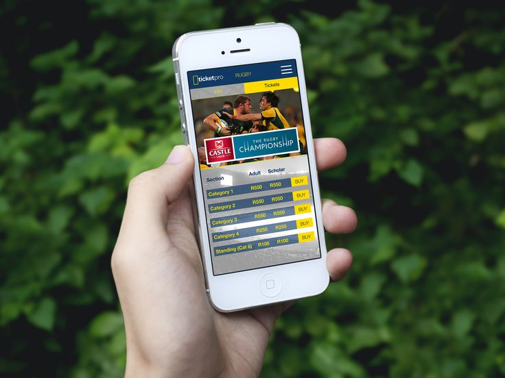 Ticket Pro - Design Concept, Mobile App, Mobile UX, Mobile UI