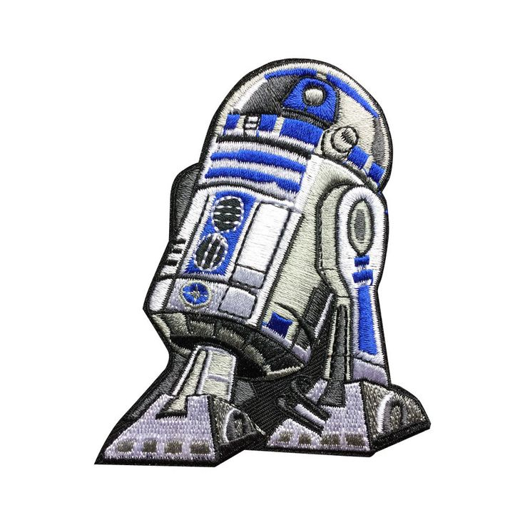New to FlagPatchKingdom on Etsy: Star Wars R2D2 Patch Embroidered Movie Iron On Sew On Patches (3.69 USD)
