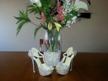 Custom Made High Heels For Special & Wedding Shoes $310
