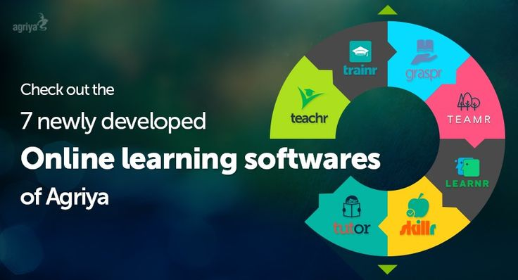 Check out the 7 newly developed online learning softwares of Agriya