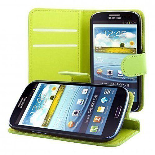 ECENCE Samsung Galaxy S3 i9300 S3 Neo i9301 Custodia a Portafoglio Protettiva wallet flip case cover verde + protezione dello schermo incluso 22030306, http://www.amazon.it/dp/B00M1RAKDW/ref=cm_sw_r_pi_awdl_gtPSub0C8294G