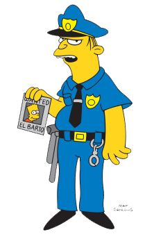 227 best images about simpsons on pinterest ios simpsons treehouse of horror and lisa simpson - Police simpsons ...