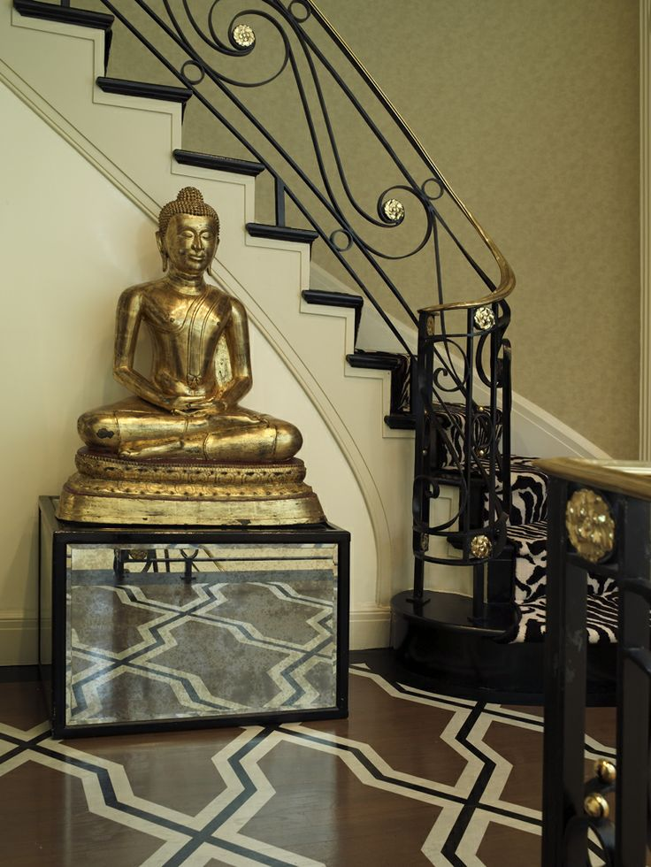 Zen Foyer Design : Best painted floors images by kevin walsh on