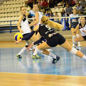 Pre League Volley. 1η Αγωνιστική. 15/10/2017. Γήπεδο Χαλκιοπούλειο. ΑΟ Λαμίας 2013 - Α.Σ.ΠΕ Θέτις Βούλας 1-3. (25-18, 20-25, 21-25, 18-25).