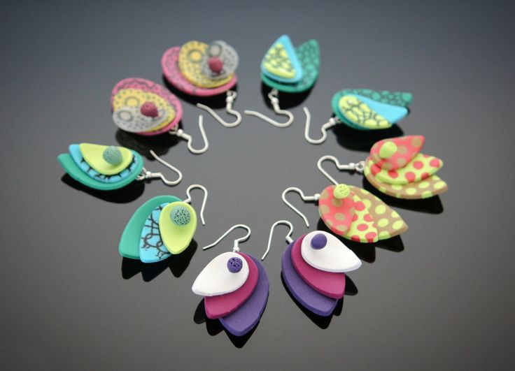 Easy and fun tear drop earrings
