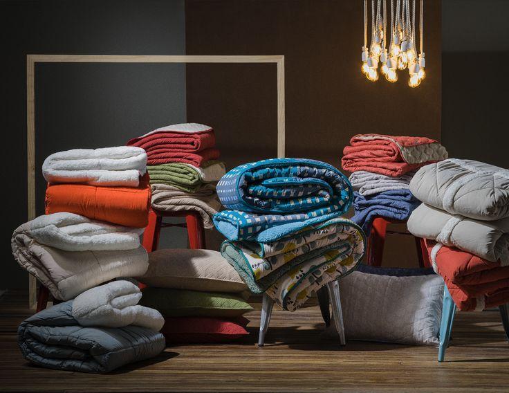Ven a conocer toda nuestra variedad de cobertores. Encontrarás diversos tamaños, diseños y colores; para pasar estas frías noches de invierno.