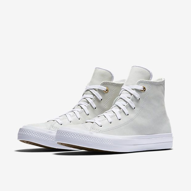Converse chuck ii craft leather high top women 39 s shoe size for Converse chuck ii craft leather low top