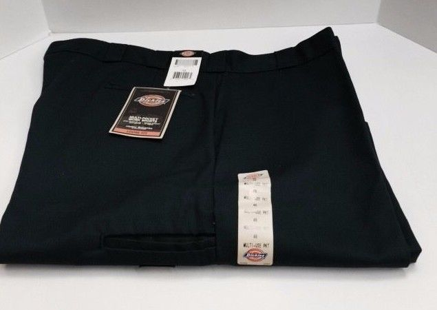 "Dickies Men's Work Shorts 13"" Inseam Loose Fit Size 48 Navy with Multi-Pocket  #Dickies #CasualShorts"