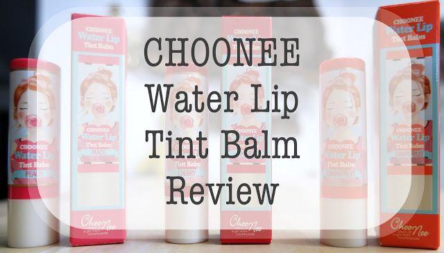 The Wandering Kitsune: [Review] Choonee Water Lip Tint Balm