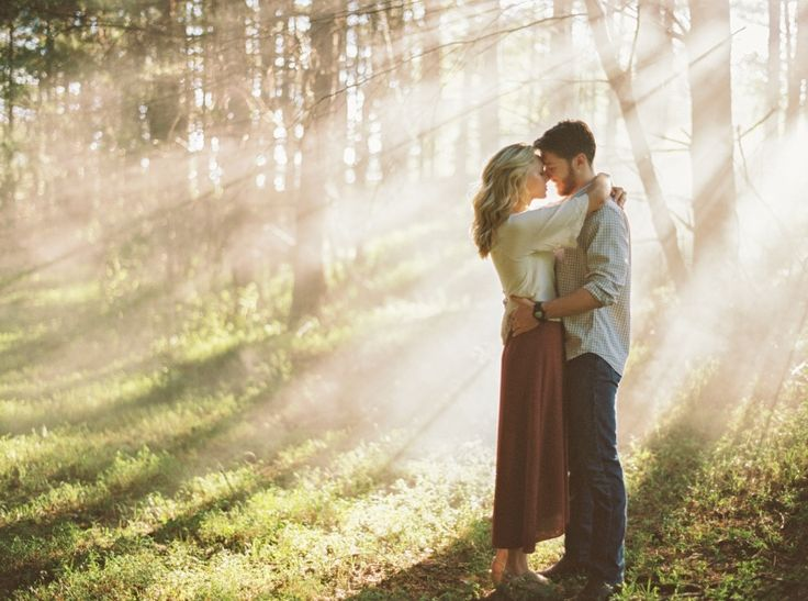 Forest engagement photos in Tennessee