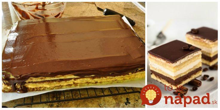 """Lepší dezert som v živote nejedla: Neskutočne jemný a lahodný francúzsky zákusok """"Opera rezy""""!"""