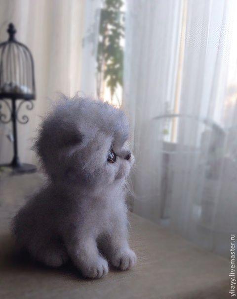 котенок Тимоша - игрушка ручной работы,игрушка,кот,коты,котик,котенок