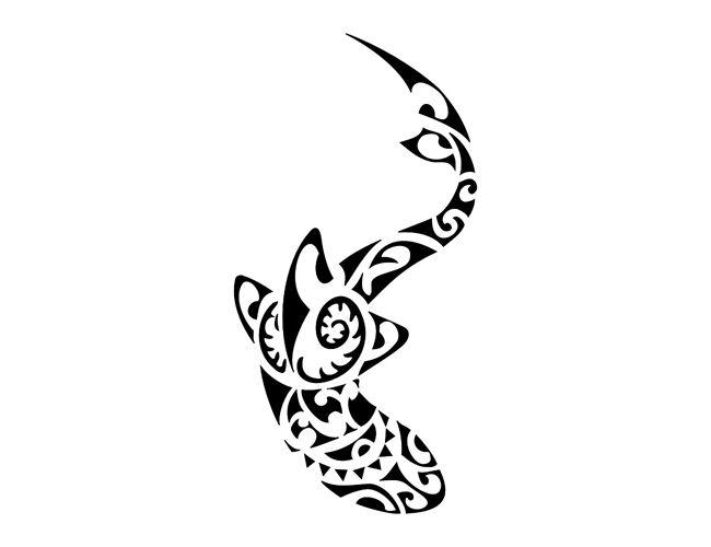 Tribal shark tattoo found on google images...