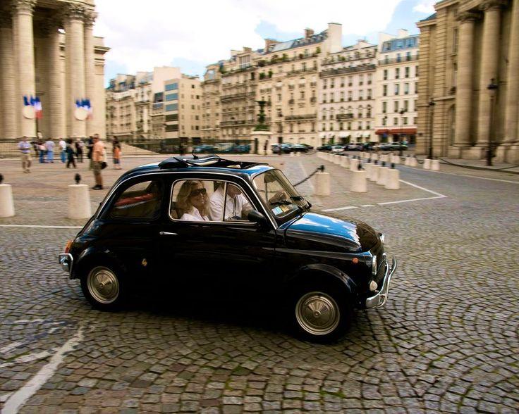 Another adorable vintage Fiat 500 Cinque cento.