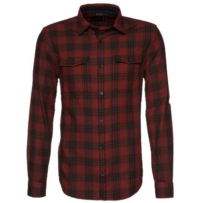 Lässiges rotes Hemd von s.Oliver. Dieses Langarmhemd überzeugt mit Karomuster und Brusttaschen. Ideal für einen coolen Casual-Look! - ab 34,90 €