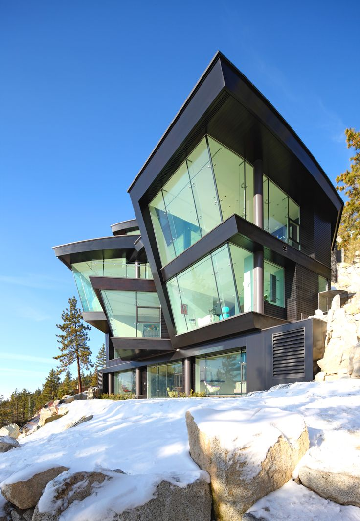 10 Modern Houses With Rock Climbing Walls: Contemporary Estates Images On