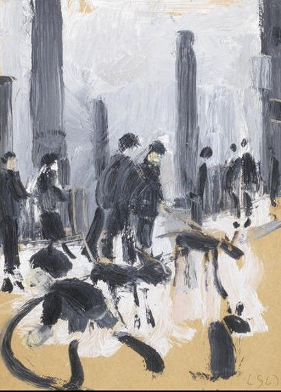 LS Lowry Harold Riley art Dave Sexton