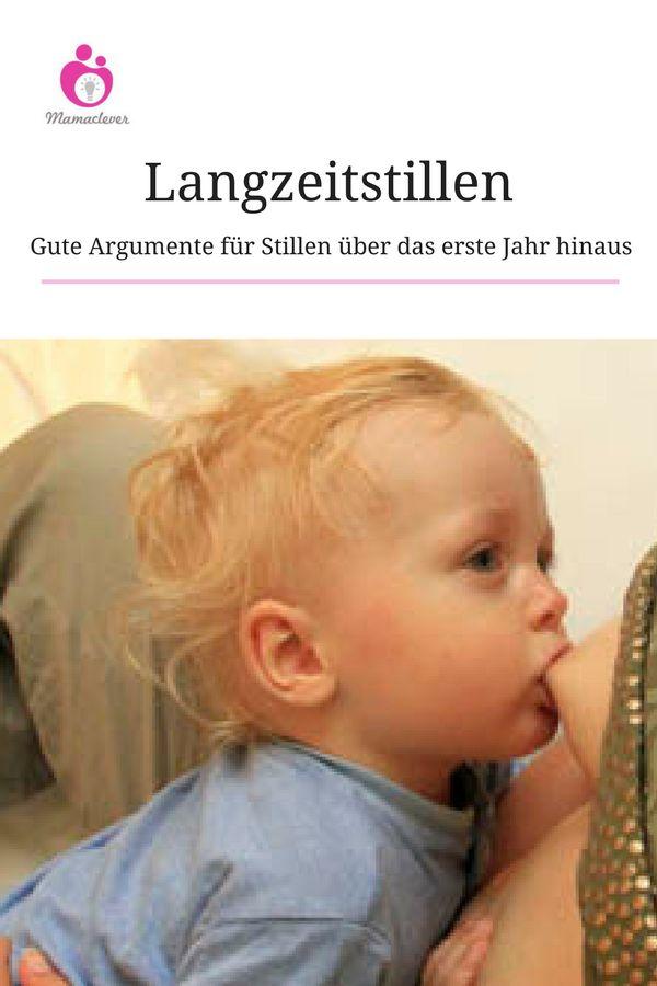 Fünf Argumente, die für das Langzeitstillen sprechen. #Stillen #Baby #Ernährung