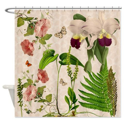 Curtains Ideas botanical shower curtain : 17 Best ideas about Floral Shower Curtains on Pinterest   Colorful ...