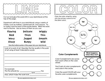 Worksheets Elements Of Art Worksheets 1000 images about art fundamentals on pinterest