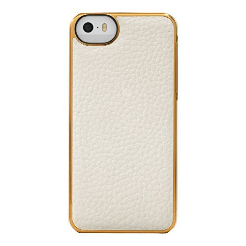 Adopted Leather Cell Phone Case for Apple iPhone 5/5S - R...