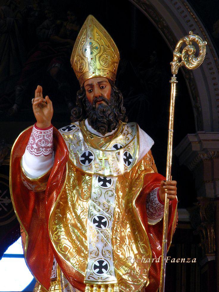 St. Nicholas beeld gemaakt in 1737