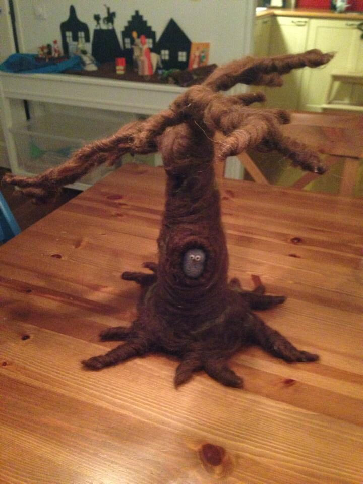 Inspiratie vilten boom seizoenentafel