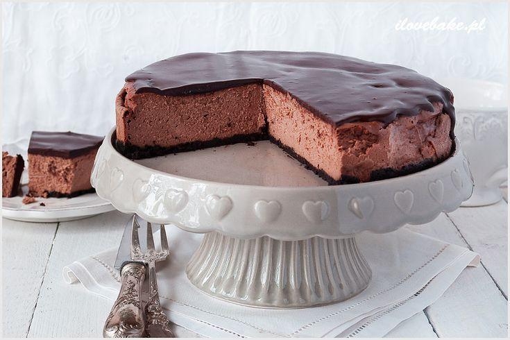 Sernik czekoladowy - I Love Bake