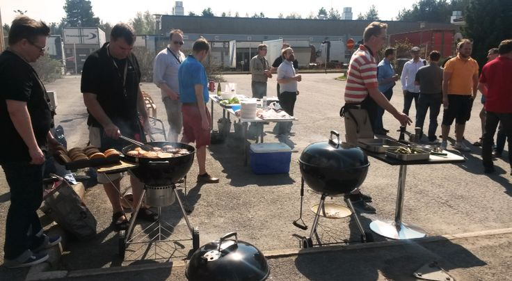 #BBQ Finnish Style - housewarming at our new office