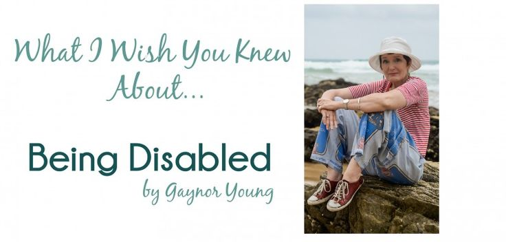 {Guest Post Series} What I Wish You Knew About… Being Disabled December 24, 2015