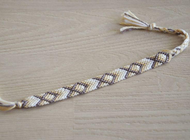 bracelet brésilien, bracelet de l'amitié : Bracelet par planete-b-bijoux