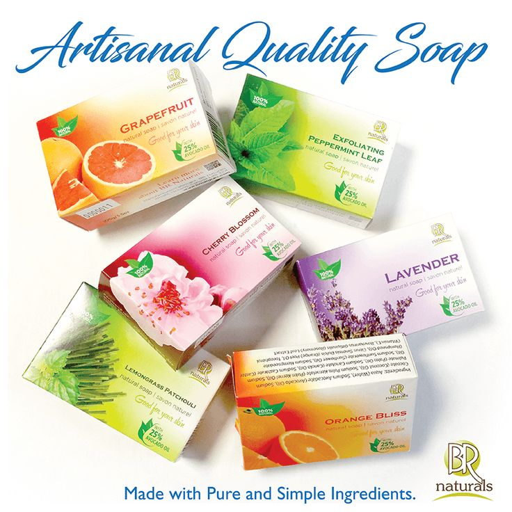 Experience the difference of handmade soap versus the 'soap' you buy in the grocery or drug store. Get softer, moisturized and balanced skin, naturally!