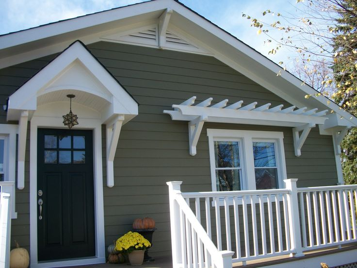 Best New Porch Images On Pinterest Craftsman Bungalows - Craftsman style exterior house color combinations for homes