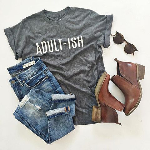 Adult-Ish Tee [SIGN-UP]