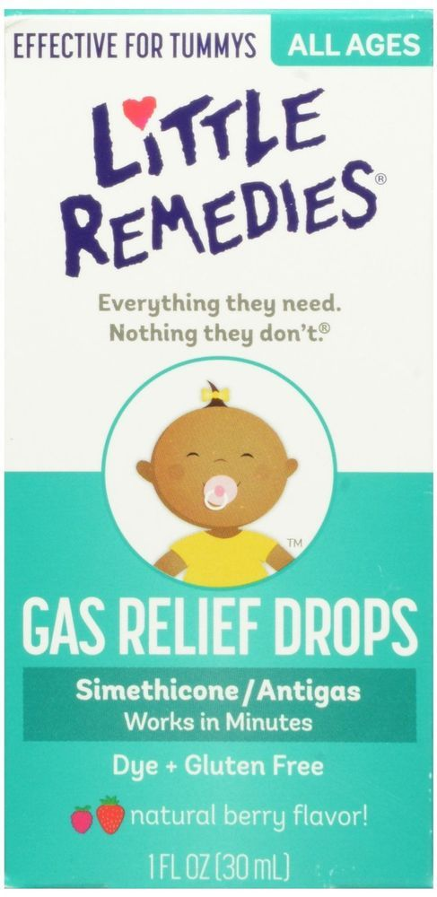 New Little Remedies for tummys Gas Relief Drops 1 oz Natural Berry Flavor #LittleRemedies