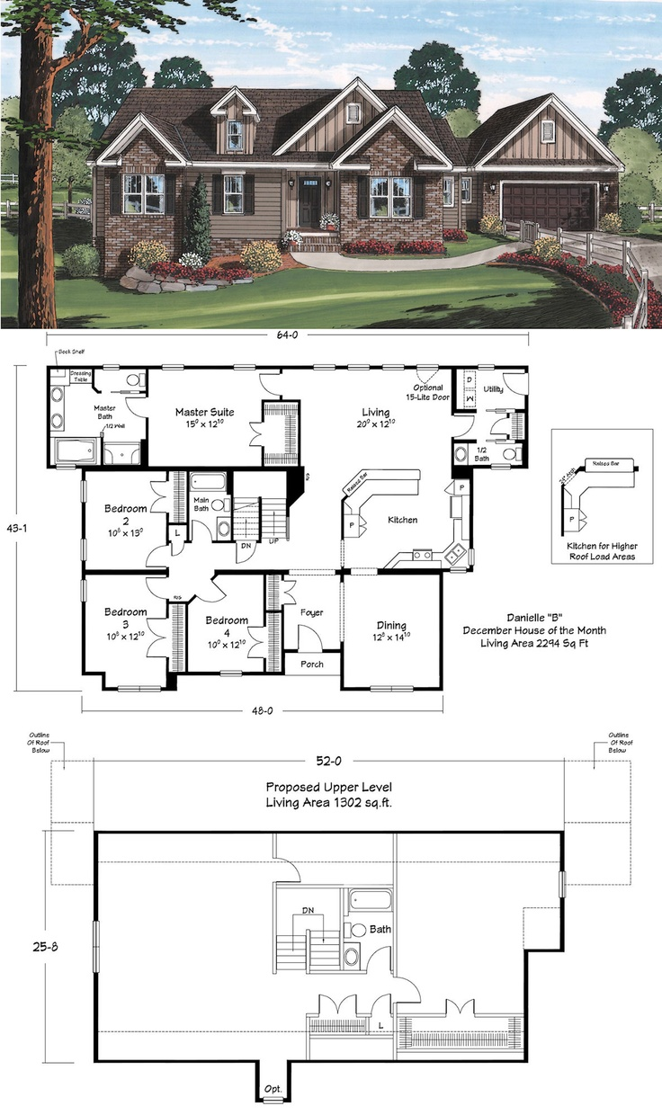 21 best cape cod plans images on pinterest modular floor plans reminds me of the alexandria by wayne homes that we like i like that this one a has an optional second floor would make it a theatre room