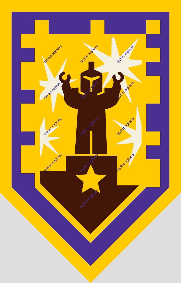 Nexo Knights Shields Three