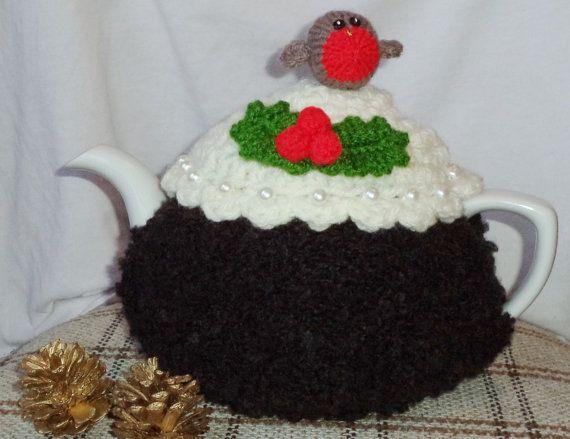 Christmas Pudding Tea Cosy Free Knitting Pattern Christmas Recipes