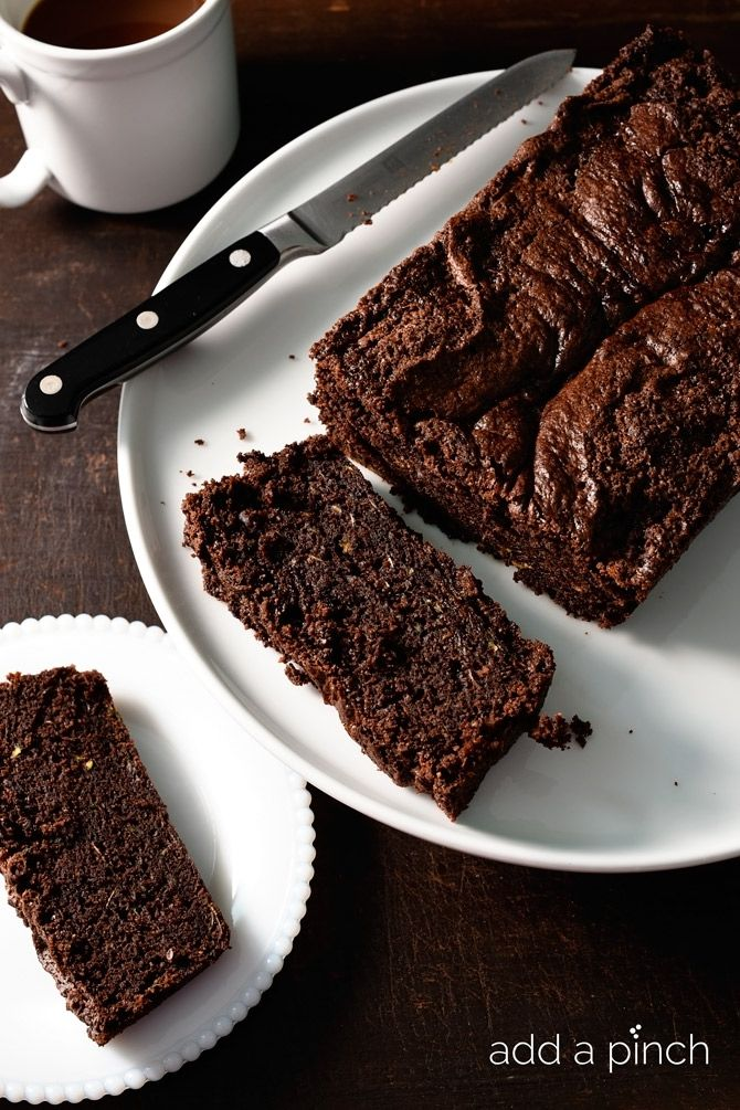 Chocolate Zucchini Bread makes a moist, delicious recipe perfect for serving for breakfast, brunch, a snack or even dessert!
