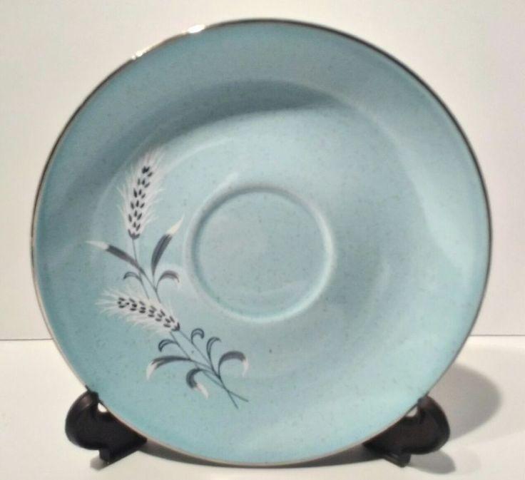 "Taylor, Smith & Taylor Pebbleford Blue 6 3/8"" Saucer 1950's buying 1 #TaylorSmithTaylor"