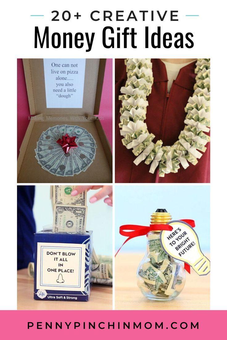 Money Gift Amount Christmas 2020 More than 20 Creative Money Gift Ideas in 2020 | Creative money